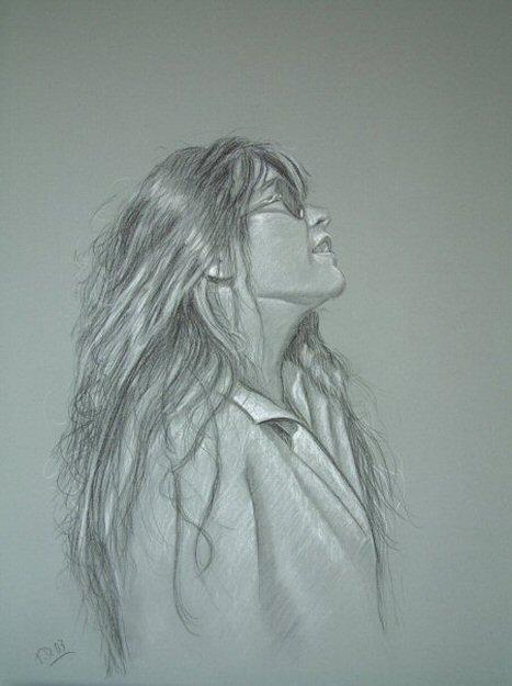 Portraitzeichnung von Maker 'Till Dehrmann'