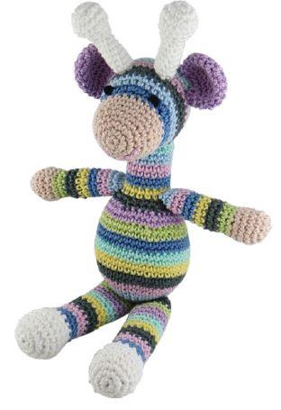 Original Little Bigfoot Giraffe Free Crochet Pattern   455x312